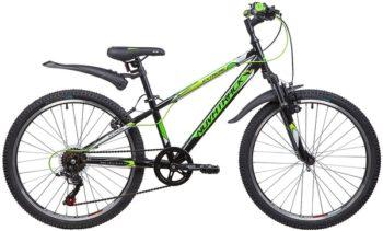 """134056 2 350x211 - Велосипед NOVATRACK EXTREME, Скоростной, р. 12"""", колеса 24"""", цвет Черный, 2020г."""
