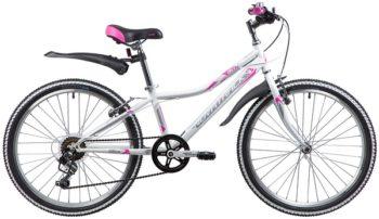 """134073 2 350x202 - Велосипед NOVATRACK ALICE, Скоростной, р. 12"""", колеса 24"""", цвет Белый, 2020г."""