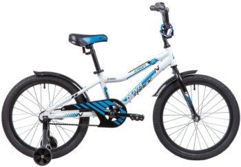 """134080 2 350x243 - Велосипед NOVATRACK CRON, Детский, р. 12"""", колеса 20"""", цвет Белый, 2020г."""