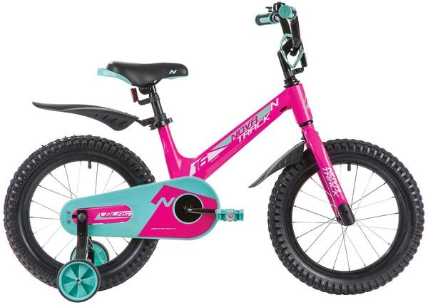 """134086 2 - Велосипед NOVATRACK BLAST, Детский, р. 10,5"""", колеса 16"""", цвет Сиреневый, 2020г."""