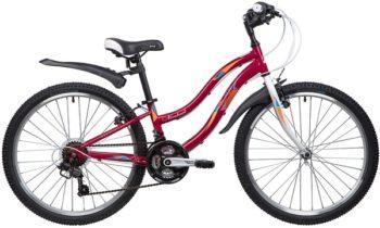 """134104 2 350x210 - Велосипед NOVATRACK LADY, Скоростной, р. 10"""", колеса 24"""", цвет Красный, 2020г."""