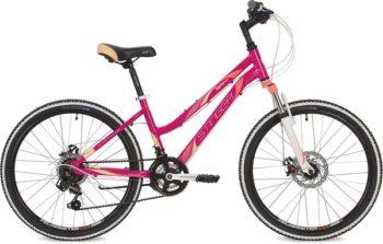 "134167 2 350x223 - Велосипед Stinger Laguna D, р.14, цвет Розовый, 2019г., колеса 24"""