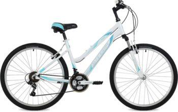 """135133 2 350x222 - Велосипед Stinger Laguna, р.15, цвет Белый, 2019г., колеса 26"""""""
