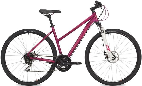 "135286 2 - Велосипед Stinger Liberty Evo, р.52, цвет Розовый, 2019г., колеса 28"""