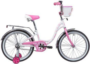 """135367 2 350x250 - Велосипед NOVATRACK BUTTERFLY, Детский, р. 12"""", колеса 20"""", цвет Розовый, 2020г."""