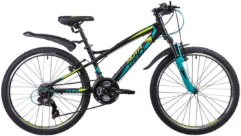 """135375 2 350x198 - Велосипед NOVATRACK TORNADO, Скоростной, р. 13"""", колеса 24"""", цвет Черный, 2020г."""