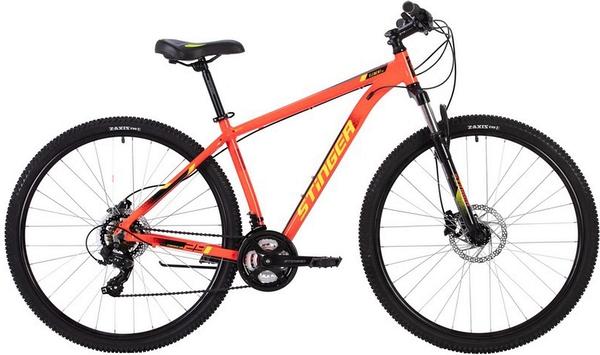 """137754 2 - Велосипед Stinger ELEMENT PRO, р.22, цвет Красный, 2020г., колеса 29"""""""