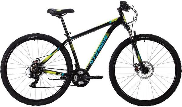 """137757 2 - Велосипед Stinger ELEMENT EVO, р.18, цвет чёрный, 2020г., колеса 29"""""""