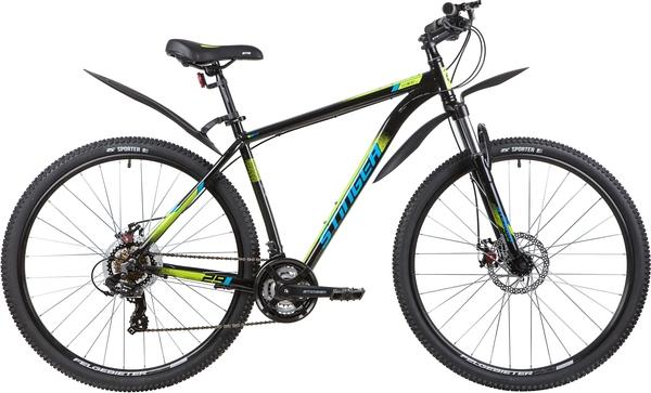 """137758 2 - Велосипед Stinger ELEMENT EVO, р.20, цвет чёрный, 2020г., колеса 29"""""""