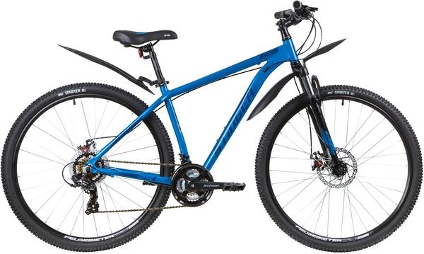 """137760 2 - Велосипед Stinger ELEMENT EVO, р.18, цвет Синий, 2020г., колеса 29"""""""