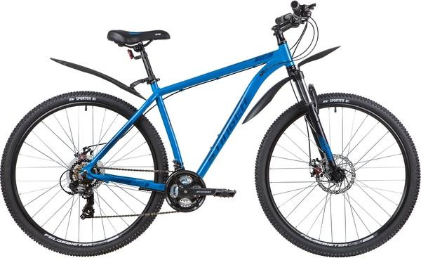 """137761 2 - Велосипед Stinger ELEMENT EVO, р.20, цвет Синий, 2020г., колеса 29"""""""