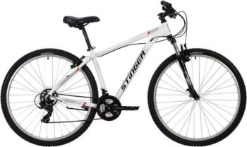 "137769 2 350x208 - Велосипед Stinger ELEMENT STD, р.18, цвет Белый, 2020г., колеса 29"""