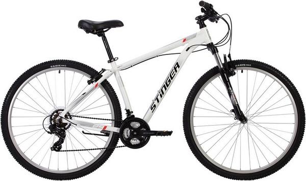 """137769 2 - Велосипед Stinger ELEMENT STD, р.18, цвет Белый, 2020г., колеса 29"""""""