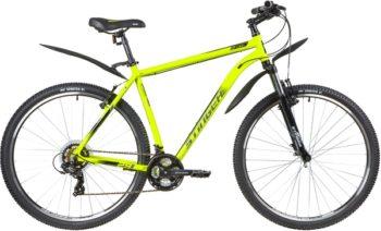 """137774 2 350x212 - Велосипед Stinger ELEMENT STD, р.22, цвет Зеленый, 2020г., колеса 29"""""""