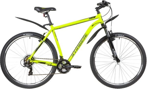 """137774 2 - Велосипед Stinger ELEMENT STD, р.22, цвет Зеленый, 2020г., колеса 29"""""""