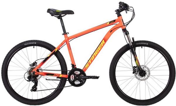 """137782 2 - Велосипед Stinger ELEMENT PRO, р.20, цвет Красный, 2020г., колеса 27"""""""