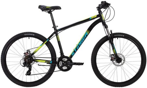 """137785 2 - Велосипед Stinger ELEMENT EVO, р.20, цвет чёрный, 2020г., колеса 27"""""""