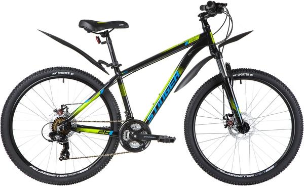 """137812 2 - Велосипед Stinger ELEMENT EVO, р.14, цвет чёрный, 2020г., колеса 26"""""""