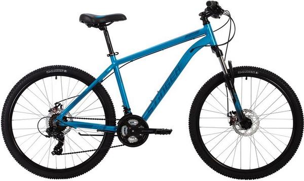 """137816 2 - Велосипед Stinger ELEMENT EVO, р.18, цвет Синий, 2020г., колеса 26"""""""