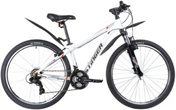 "137823 2 350x218 - Велосипед Stinger ELEMENT STD, р.14, цвет Белый, 2020г., колеса 26"""