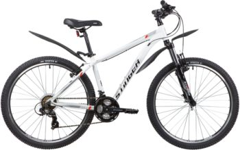 "137824 2 350x219 - Велосипед Stinger ELEMENT STD, р.16, цвет Белый, 2020г., колеса 26"""