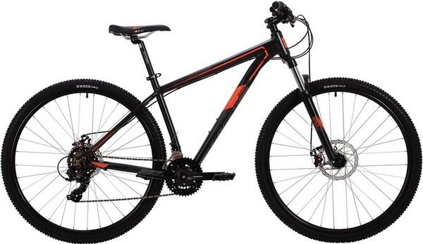 """139560 2 - Велосипед Stinger GRAPHITE STD, р.18, цвет чёрный, 2020г., колеса 27"""""""