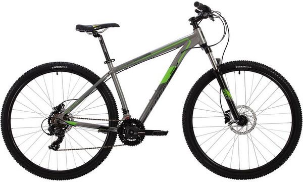 """139562 2 - Велосипед Stinger GRAPHITE EVO, р.22, цвет Серый, 2020г., колеса 29"""""""
