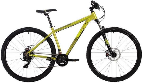 """139563 2 - Велосипед Stinger GRAPHITE STD, р.16, цвет Зеленый, 2020г., колеса 27"""""""