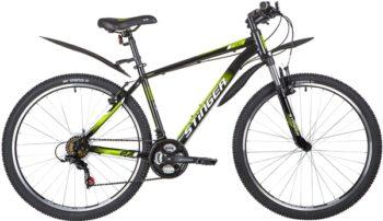 """139610 2 350x202 - Велосипед Stinger CAIMAN, р.18, цвет чёрный, 2020г., колеса 27"""""""