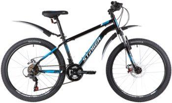 """139613 2 350x209 - Велосипед Stinger CAIMAN D, р.14, цвет чёрный, 2020г., колеса 24"""""""