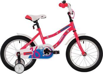 """139630 2 350x254 - Велосипед NOVATRACK NEPTUN, Детский, р. 9"""", колеса 14"""", цвет Розовый, 2020г."""