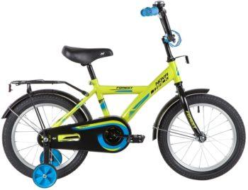 """139641 2 350x268 - Велосипед NOVATRACK FOREST, Детский, р. 10,5"""", колеса 16"""", цвет Зеленый, 2020г."""