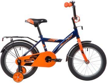 """139656 2 350x274 - Велосипед NOVATRACK ASTRA, Детский, р. 10,5"""", колеса 16"""", цвет Синий, 2020г."""