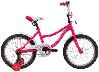 """139666 2 350x256 - Велосипед NOVATRACK NEPTUN, Детский, р. 11,5"""", колеса 18"""", цвет Розовый, 2020г."""