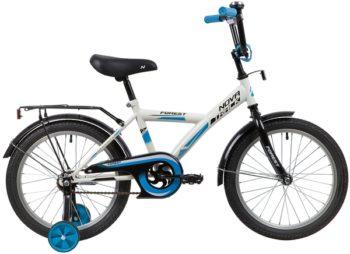 """139669 2 350x254 - Велосипед NOVATRACK FOREST, Детский, р. 11,5"""", колеса 18"""", цвет Белый, 2020г."""