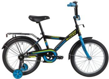 """139671 2 350x255 - Велосипед NOVATRACK FOREST, Детский, р. 11,5"""", колеса 18"""", цвет Черный, 2020г."""