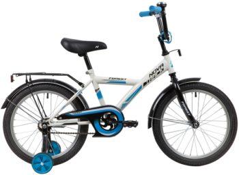 """139686 2 350x256 - Велосипед NOVATRACK FOREST, Детский, р. 12"""", колеса 20"""", цвет Белый, 2020г."""