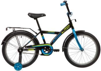 """139688 2 350x247 - Велосипед NOVATRACK FOREST, Детский, р. 12"""", колеса 20"""", цвет Черный, 2020г."""