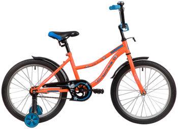 """139700 2 350x255 - Велосипед NOVATRACK NEPTUN, Детский, р. 12"""", колеса 20"""", цвет Оранжевый, 2020г."""