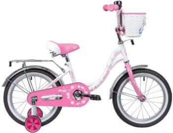 """139708 2 350x268 - Велосипед NOVATRACK BUTTERFLY, Детский, р. 9"""", колеса 14"""", цвет Розовый, 2020г."""