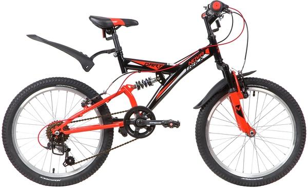 """139722 2 - Велосипед NOVATRACK DART, Скоростной, р. 13"""", колеса 20"""", цвет Белый, 2020г."""