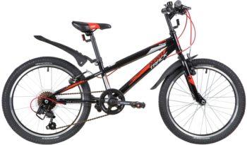 """139724 2 350x205 - Велосипед NOVATRACK RACER, Скоростной, р. 12"""", колеса 20"""", цвет Черный, 2020г."""