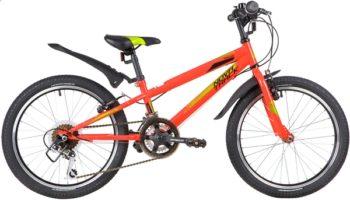 """139727 2 350x200 - Велосипед NOVATRACK RACER, Скоростной, р. 12"""", колеса 20"""", цвет Красный, 2020г."""