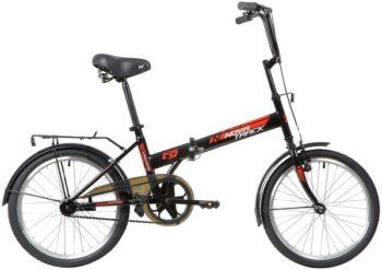 """139791 2 350x247 - Велосипед NOVATRACK TG301, Складной, р. 14"""", колеса 20"""", цвет Черный, 2020г."""