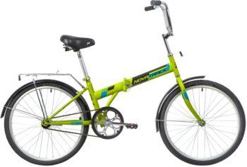 """139794 2 350x237 - Велосипед NOVATRACK TG1, Складной, р. 14,5"""", колеса 24"""", цвет Зеленый, 2020г."""