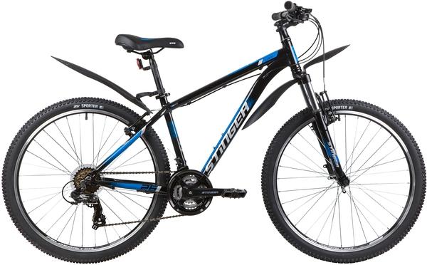 """139800 2 - Велосипед Stinger ELEMENT STD, р.14, цвет чёрный, 2020г., колеса 26"""""""