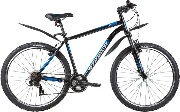 """139805 2 - Велосипед Stinger ELEMENT STD, р.20, цвет чёрный, 2020г., колеса 27"""""""