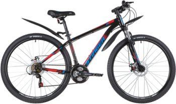"""139810 2 350x207 - Велосипед Stinger CAIMAN D, р.16, цвет чёрный, 2020г., колеса 27"""""""
