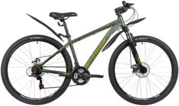 """139814 2 350x208 - Велосипед Stinger CAIMAN D, р.16, цвет Зеленый, 2020г., колеса 27"""""""
