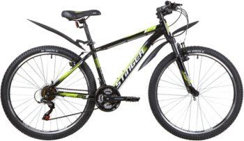 """139817 2 350x203 - Велосипед Stinger CAIMAN, р.16, цвет чёрный, 2020г., колеса 26"""""""